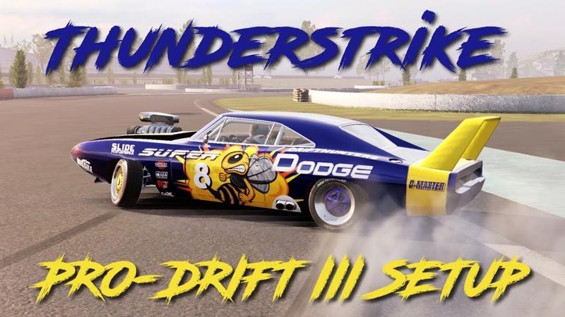 Thunderstrike Pro-Drift III Custom Setup (Dodge Charger) | CarX Drift Racing 2