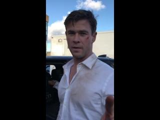 Chris Hemsworth Avengers 4 Reshoots