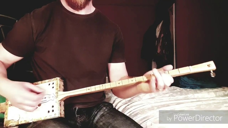 Tension Head - Queens Of The Stone Age - One String Diddley Bow Guitar Cover