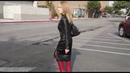 Namita Sen shopping in her leather skirt,jacket and boots outfit - Deshi Bhabi