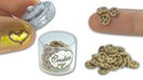 Miniature doll chocolate cookies and cookie jar DIY tutorial YolandaMeow♡