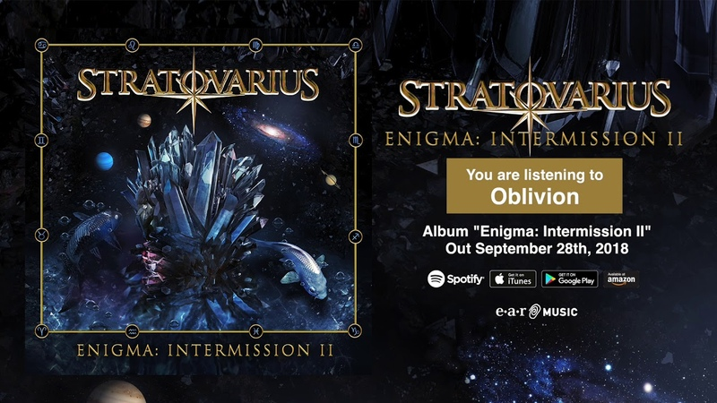 Stratovarius Oblivion NEW SONG Album Enigma Intermission 2 OUT September 28th