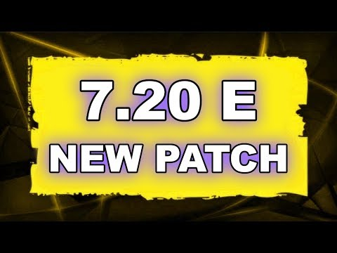Dota 2 NEW 7.20 E UPDATE - Main Changes!