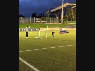 Soccer mom at work! shak