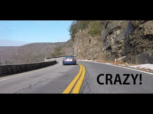 M3 GTR Racecar Canyon Run (Fly ByChase CamRoof Cam)