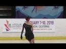 Satoko MIYAHARA FS 2018 US International Classic