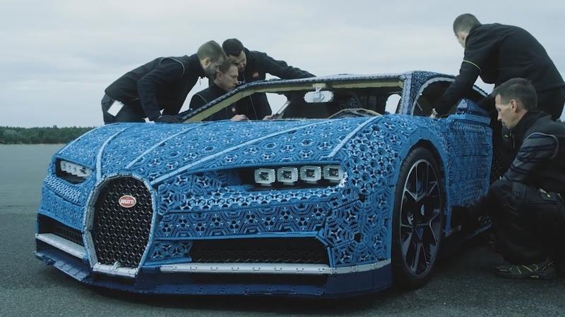 How To Build LEGO Bugatti Chiron Working LEGO CHIRON