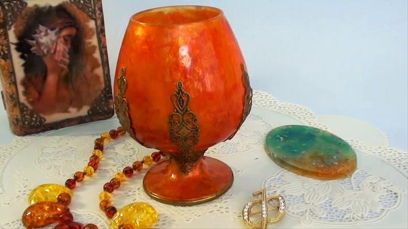 Имитация камней яшма,, авантюрин, янтарь.