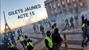 GILETSJAUNES ACTE15 Mouvement en hausse et violences policières gratuites