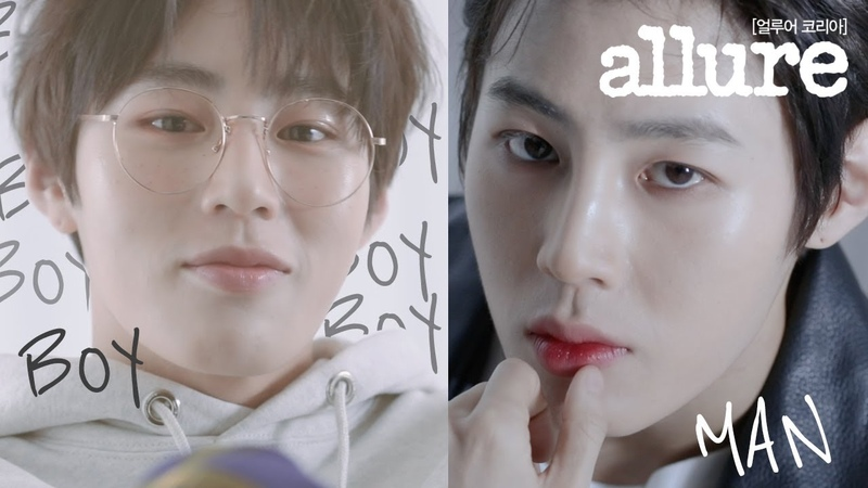 소년? 남자? 하성운의 두가지 매력 중 하나만 고른다면?   얼루어코리아 Allure Korea