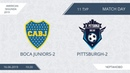 AFL19. America. Segunda. Day 11. Boca Juniors-2 - Pittsburgh-2.