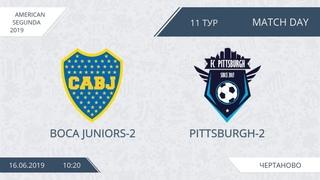 AFL19. America. Segunda. Day 11. Boca Juniors-2 - Pittsburgh-2.
