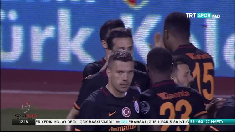 Eskisehir Galatasaray genis ozet 15 16