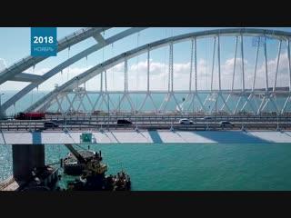 Крымский мост: Итоги 2018 года