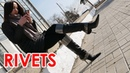 Christina's pointed toe high heels Gianmarco Lorenzi boots with rivets EU 38 5 US 8