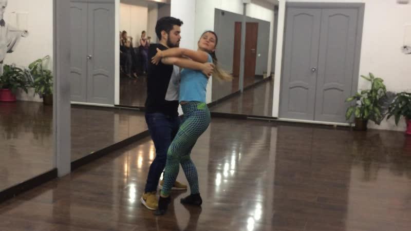 Edson Vieira Brazilian zouk and Terexina Natasha 13 11 2018