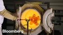 How Hand-Blown Molten Glass is Made