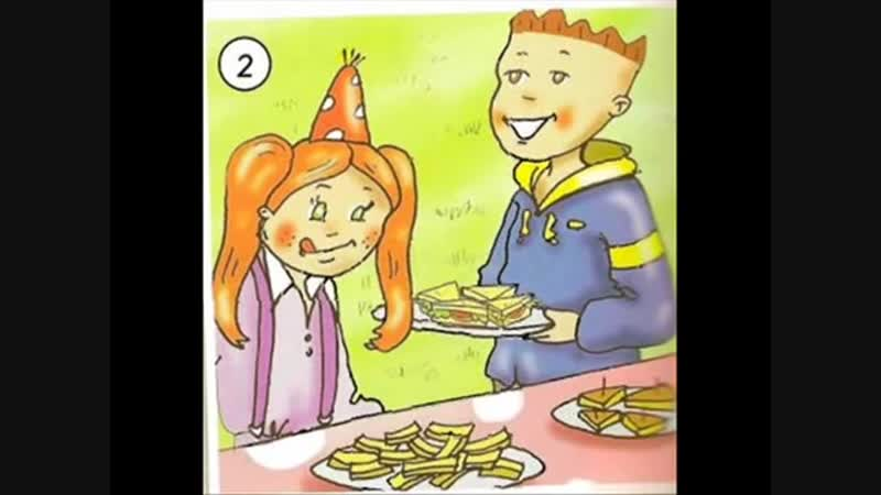 English for children. Spotlight 2. p. 50 ex. 1 A lovely party (Text) (2)