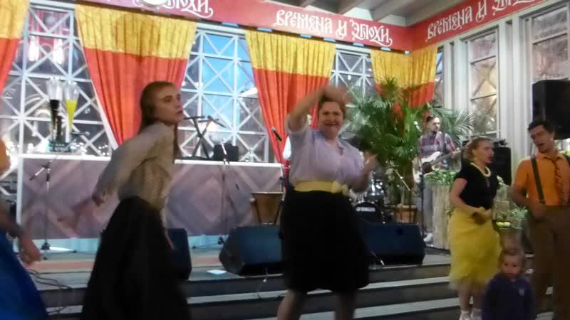 11.Andrej Bukreev. Буй Марина. Танцы под джазовую музыку. Джайв. Молодежные развлечения 1950-1960-х годов. Модные наряды эпохи О