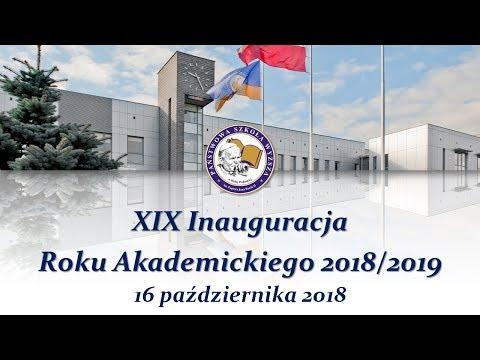 XIX ИнаугурацияНачало учебного года 20182019 - Państwowa Szkoła Wyższa w Białej Podlaskiej