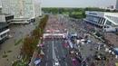 Minsk Marathon, drone video footage