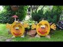 ❀ Лучшие поделки для дачи и детской площадки из бревен