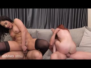 Sheena Ryder and Lacy Lennon [All Sex, Hardcore, Blowjob, Group]