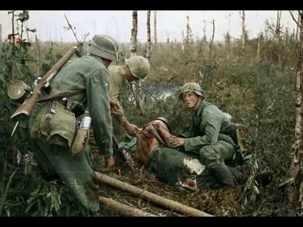 Кадры боёв второй мировой войны в цвете \ Battle frames of the Second World War in color