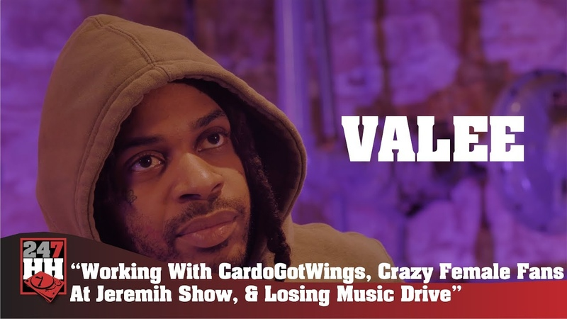Valee - Working With CardoGotWings, Crazy Female Fans At Jeremih Show, Losing Music Drive