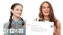 Keira Knightley Mackenzie Foy Answer the Web's Most Searched Questions WIRED