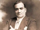 Enrico Caruso as Bass in La Boh