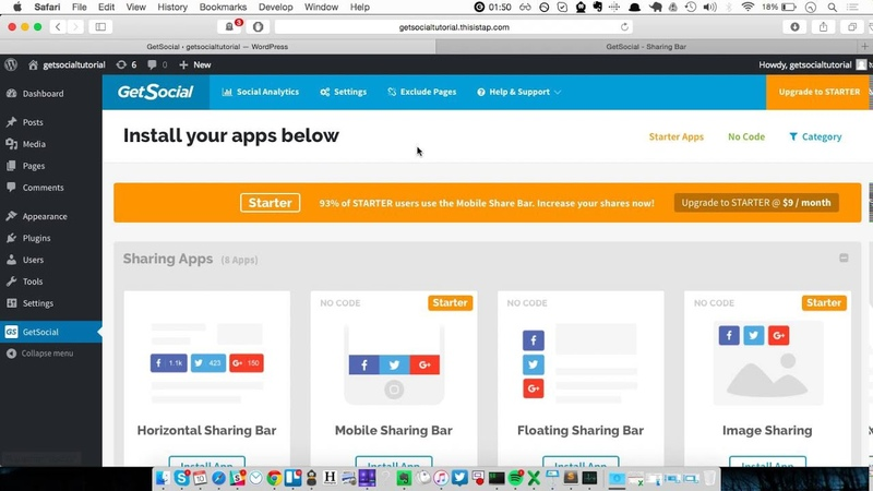 How to add Wordpress Social Share Buttons