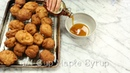 Pumpkin Spice, Maple Glazed Apple Fritters