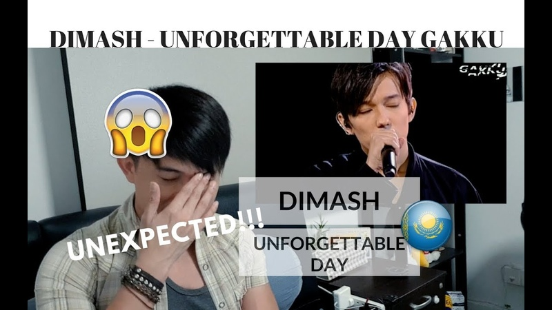 [REACTION] MY UNEXPECTED REACTION to DIMASH - Unforgettable Day GAKKU | JANGReacts
