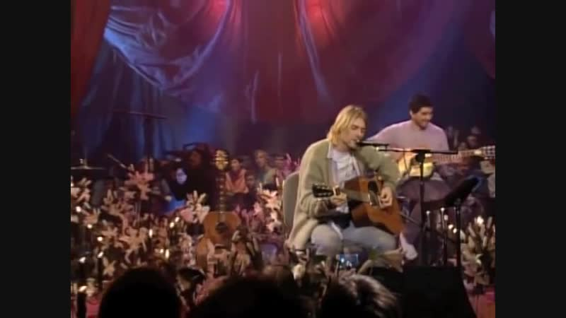 Nirvana - Jesus Doesn't Want Me For A Sunbeam (MTV Unplugged in New York)