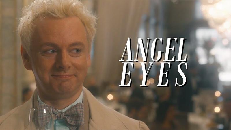 Crowley/Aziraphale | Look into his angel eyes