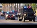 LAPD SWAT Bearcats Metro Units Responding