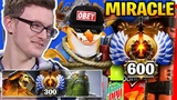 Miracle was Completely Destroy by Player have 600 Immortal Rank
