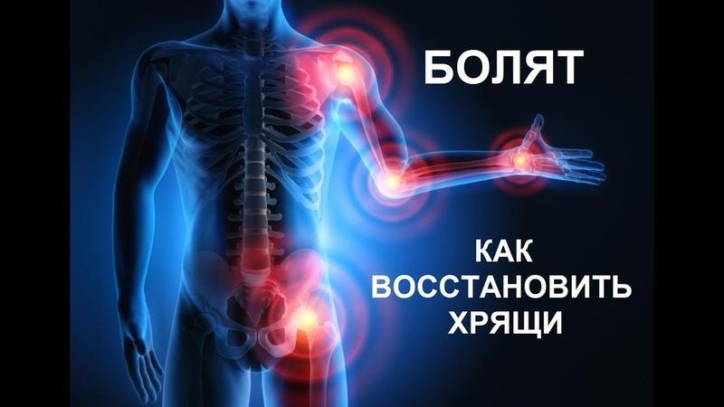 Болят суставы. Как восстановить хрящи