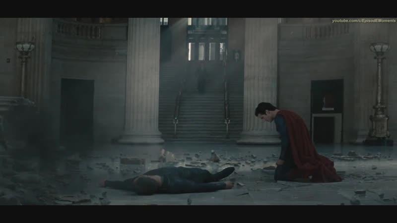 Супермен. Бог,что умер за людей (Человек из Стали 2013 ,Бетмен против Супермена 2016)