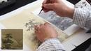 Copy Ma Yuan's Landscape on Silk 1/3 Генри Ли