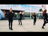Выступления школы танцев PL'as на закрытие мотосезона, high-heels