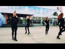Выступления школы танцев PLas на закрытие мотосезона, high-heels