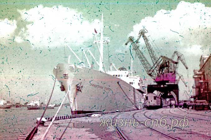 Латвийская ССР. Рижский порт на старых фотографиях