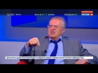 Жириновский: победа ЛДПР в Хабаровском крае и Владимирской области - это успех всей страны