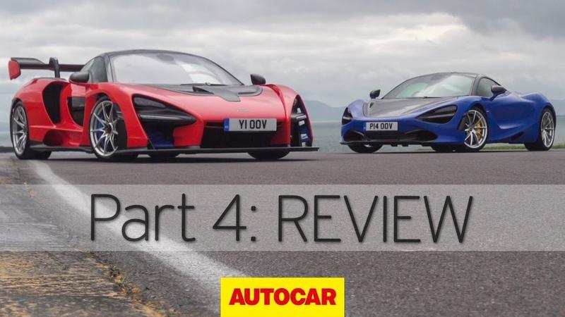 McLaren Senna vs 720S Part 4 Review Autocar