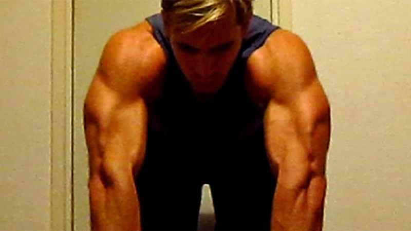 TRICEPS Workout at Home (without weightsgym equipment)