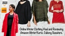 Indian winter clothes Online Shopping Haul | Review of Winter Clothing Online India | Zoha Khan