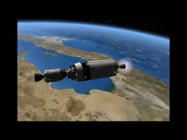 Manned Venus Flyby - Orbiter Space Flight Simulator
