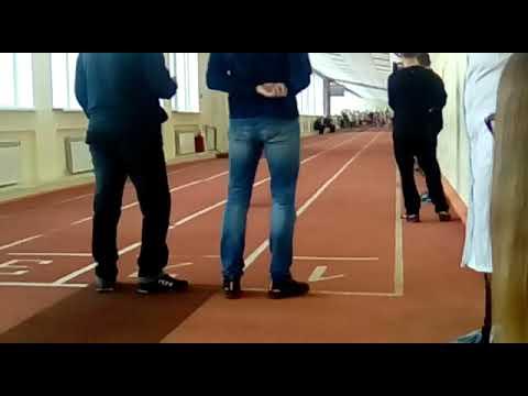 Кубок Семеновой 13.04.2019 (Аня 60м забег 7.7с.)